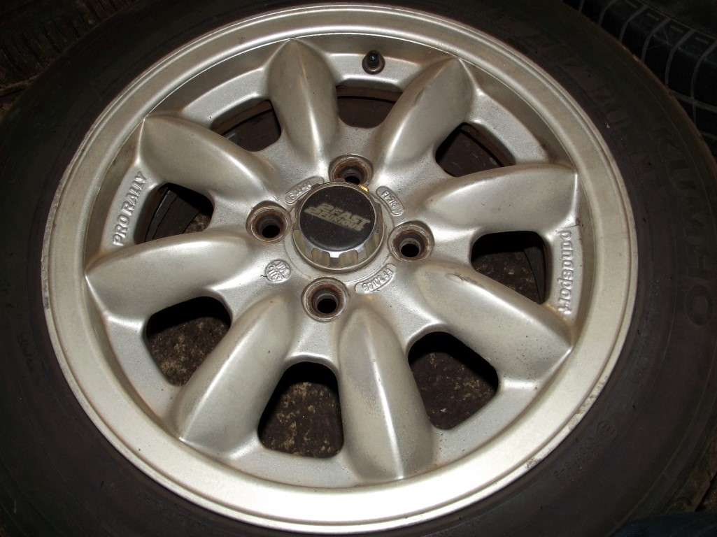 Subaru Aftermarket Parts >> Panasport 14 Alloy Wheels 6J 4x100 JDM Pro-Rally